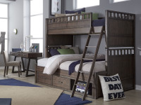 Bradley Bunk Bed, Twin/Full