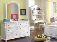 Ashley Dresser & Arched Mirror
