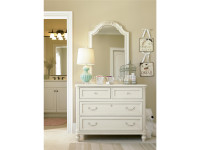 Arianna Single Dresser & Mirror