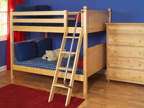 Maxtrix Ladder Bunk Beds - Bedroom Source