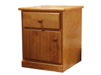 Nightstand - 1 Drawer & Door