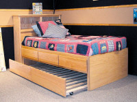 3 Drawer Storage Bed