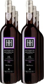 Award Winning Malvasia Madeira,  50cl - 15 years old Henriques and Henriques!