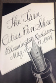 TWIN CITIES PEN SHOW POSTER 1998