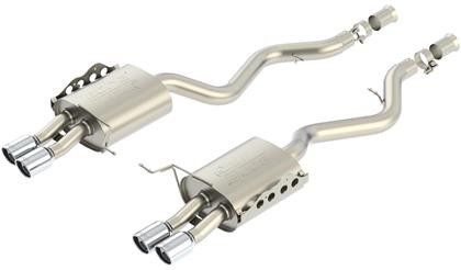 Borla Axle Back Exhaust (ATAK) 11802, 11802, 2008-2012 BMW E90 / E92 M3