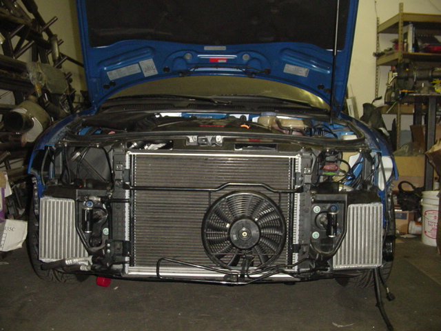 Evolution Racewerks  Dual Side Mount Intercooler AU-SMIC001, Audi S5 B5 2.7TT