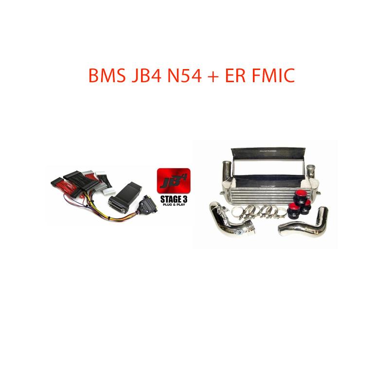 BMS Power Package 6: BMS N54 JB4 + Evolution Racewerks FMIC *Free Shipping*