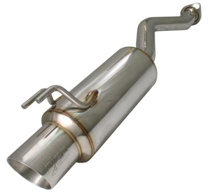 Injen 60MM Axle Back Exhaust SES1577, 2006-2011 Honda Civic Si