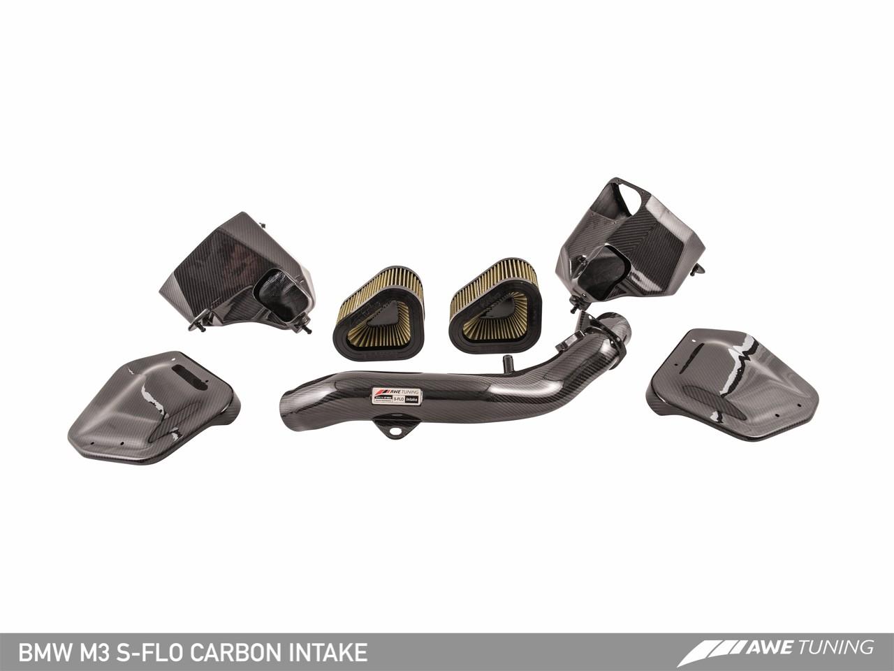 AWE Tuning BMW F80 / F82 M3 M4 S Flo Carbon Intake