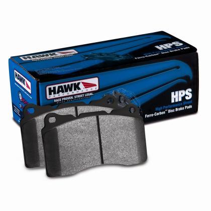 Hawk 06-10 VW Touareg Front /09-11 Corvette Z06/ZR-1 (w/Carbon Ceramic Brake Package and Iron rotors) Rear HPS Street Brake Pads HB632F.586