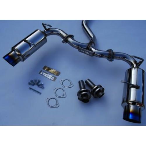 Invidia N1 Cat Back Exhaust (60MM Ti Tip) HS12SSTGTT, 2013 Subaru BRZ / Scion FR-S *Free Shipping*