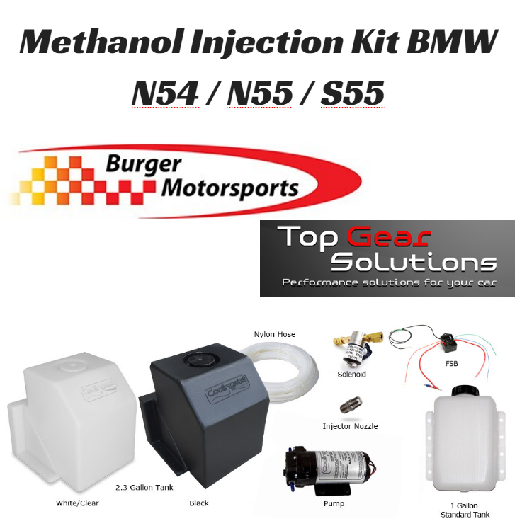 BMS Methanol Injection Kit,  135i / 335i / 335xi / M3 / M4 (N54 / N55 / S55)