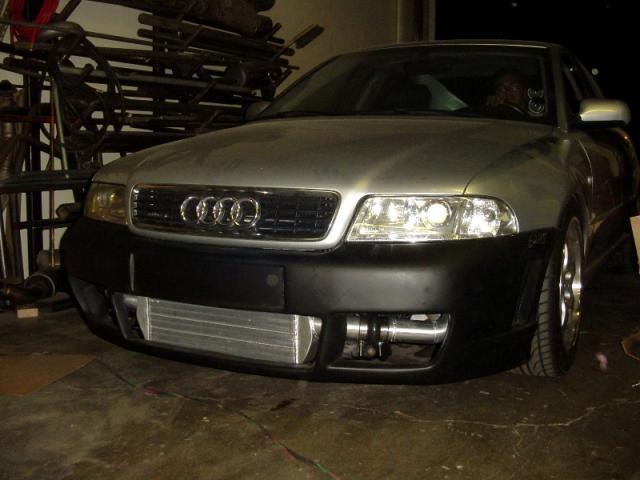 Evolution Racewerks Audi A4 (B5) Competition Series Front Mount Intercooler (FMIC) Kit