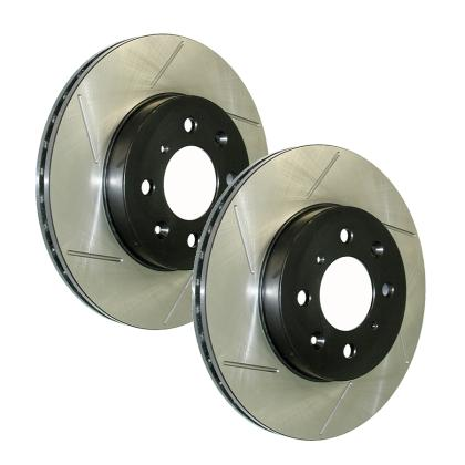 Stop Tech Slotted Rotor (Front Left) 126.47021SL, 2013 Subaru BRZ / Scion FR-S