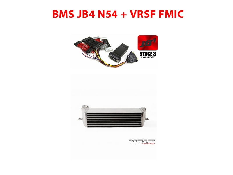 BMS Power Package 5: BMS JB4 N54 and VRSF BMW Intercooler  *Free Shipping*