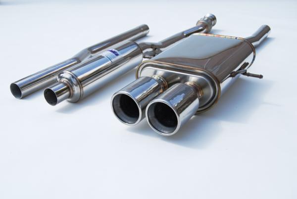 Invidia Q300 Cat Back Exhaust (Stainless Steel Tip) HS07MCSGTP, 2007-2010 Mini Cooper S R56
