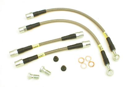 Stoptech 10+ Camaro SS V8 Stainless Steel Rear Brake Lines