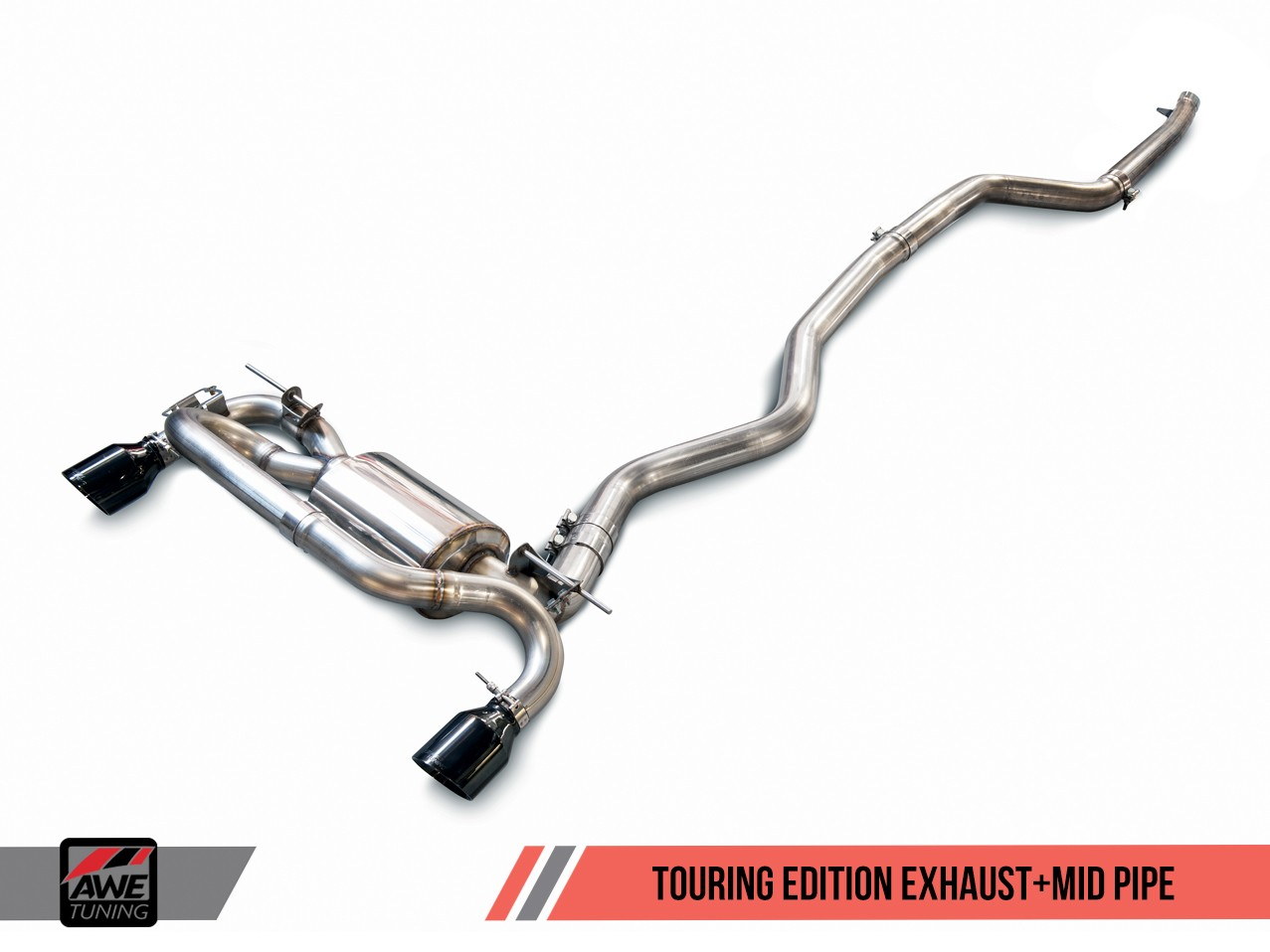 AWE Tuning BMW F30 340i Exhaust Suite