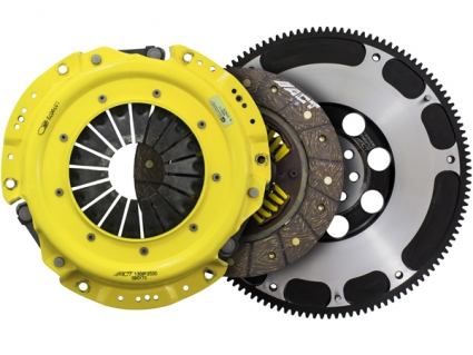 ACT Xtreme Race Clutch Kit W/ Streetlight Flywheel (4-Pad Rigid Hub) SB7-XTR4, 2013-2014 Subaru BRZ / Scion FR-S