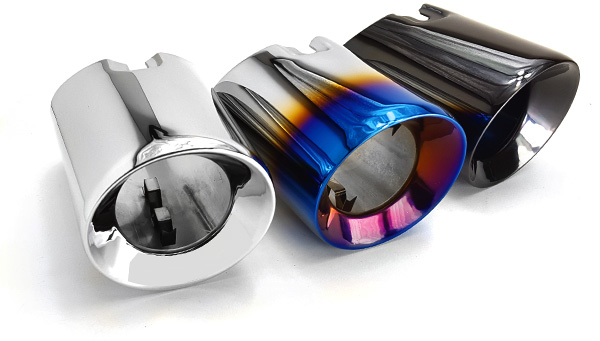 "BMS F Chassis 3.5"" Slip-On N55 & B58 Exhaust Tips"
