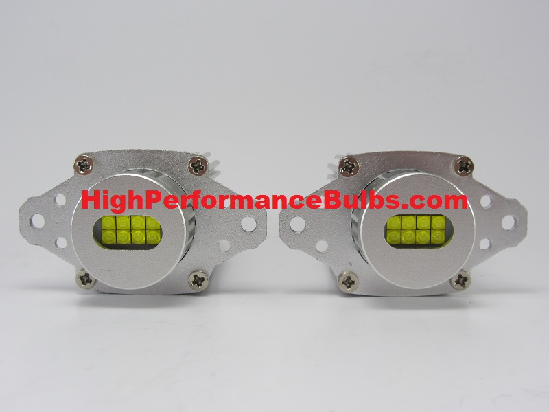 HPB 160 Watt Total Output LED Angel Eyes, 2009-2012 BMW E90 LCI (Halogen Only)