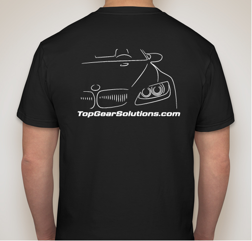 Top Gear Solutions T - Shirt *Free Shipping*