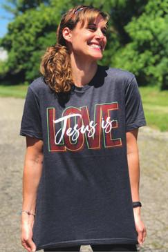 NEW! JESUS IS LOVE