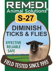 Diminish Ticks and Flies in Sheep