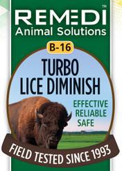 Turbo Lice Diminish, B-16