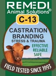 Castration, Branding, Stress & Trauma, C-13