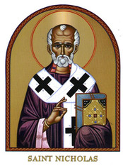 Saint Nicholas Icon Decal