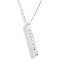 Pointe Moderne Personalized Necklace - Long Version