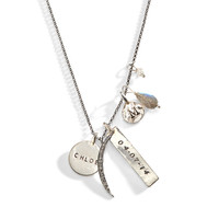 Talon Personalized Hand Stamped Necklace