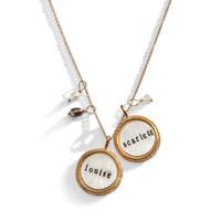 Ravenna Golden Name Necklace