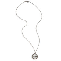 Petticoat Diamond Rimmed Personalized Name Charm