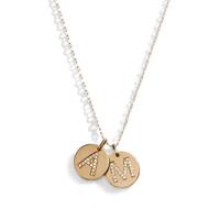 14K Gold & Diamond Pave Letter - A La Carte Charm