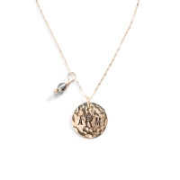 Simple Gold Personalized Charm Necklace