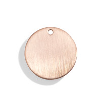 Classic Personalized Initial Disc - A La Carte Charm