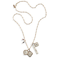 Modern Heirloom Personalized Charm Necklace
