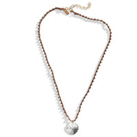 Breck Beaded Macrame Personalized Name Necklace