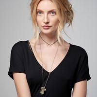 Super Model Name Tag Necklace