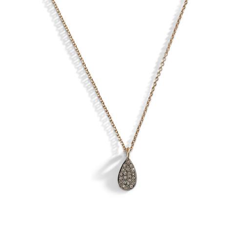Diamond Dewdrop Layering Necklace