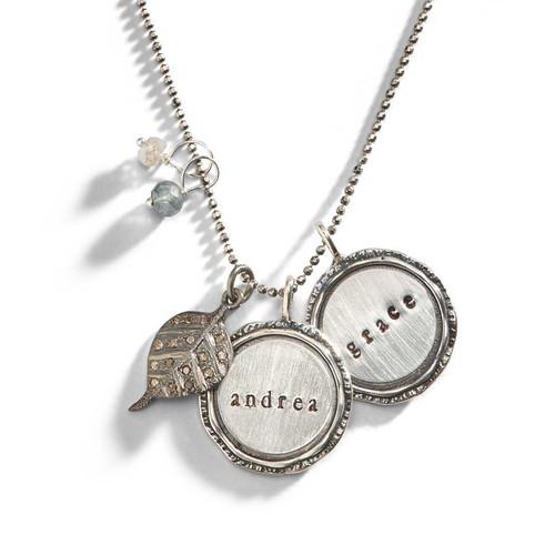 Diamond Valkyrie Personalized Necklace