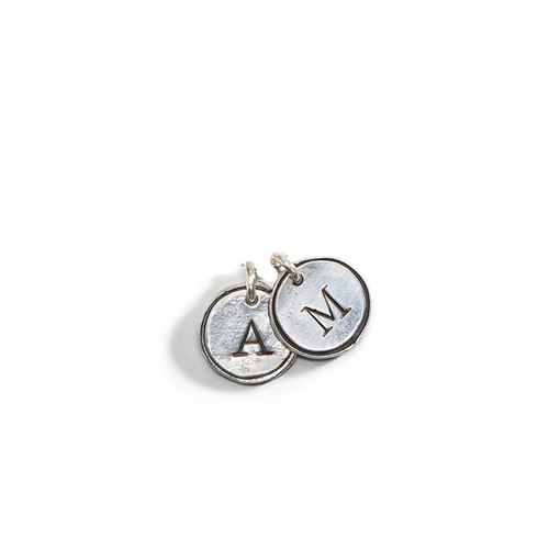 Petite Doubloon Theo Initial Charm - A La Carte Charm