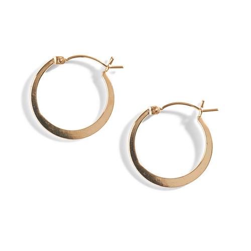 Liz Gold Filled Hoop Earrings