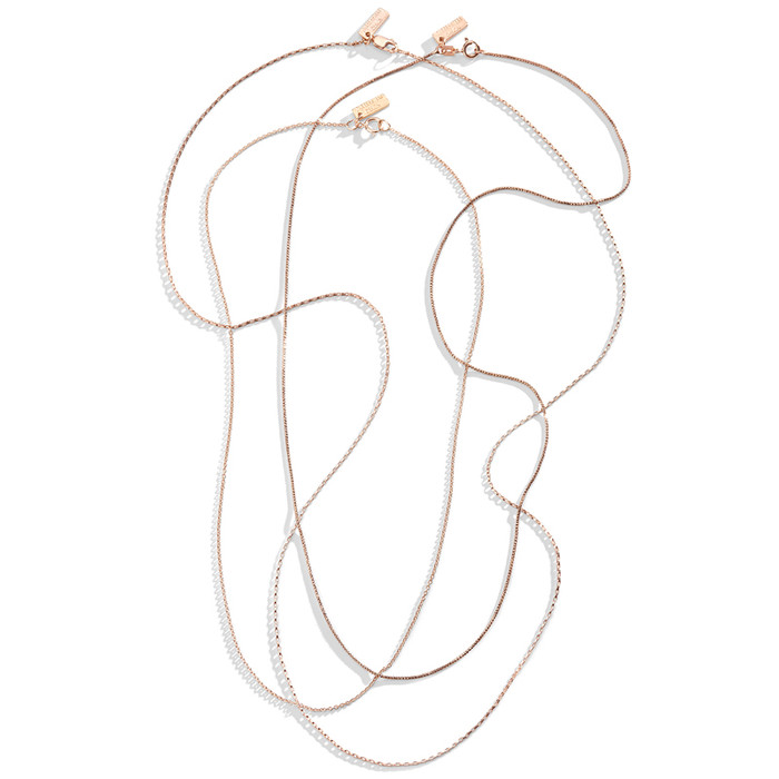 Rose Gold-Filled Chains