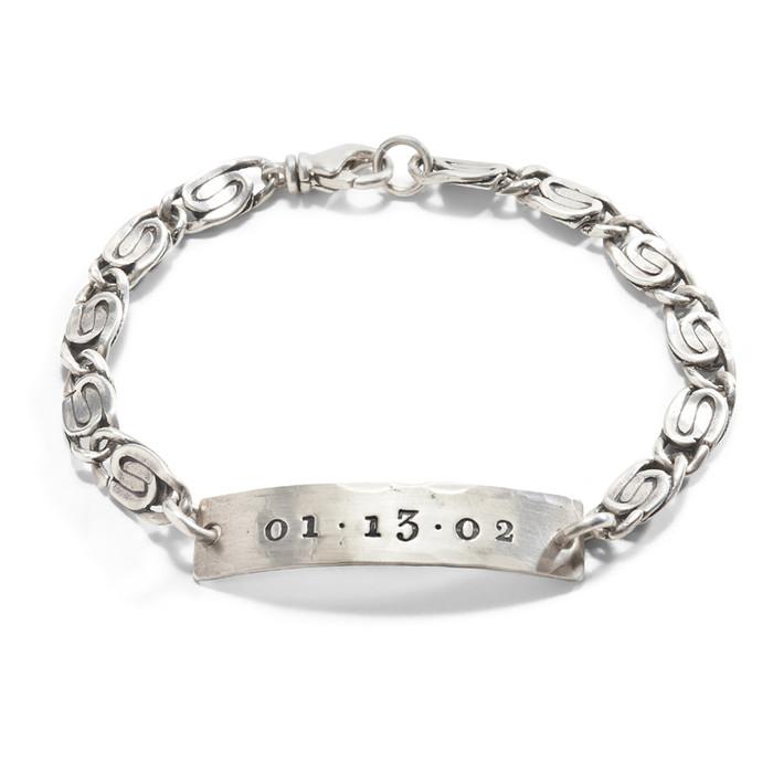Uke Mens Personalized Bracelet