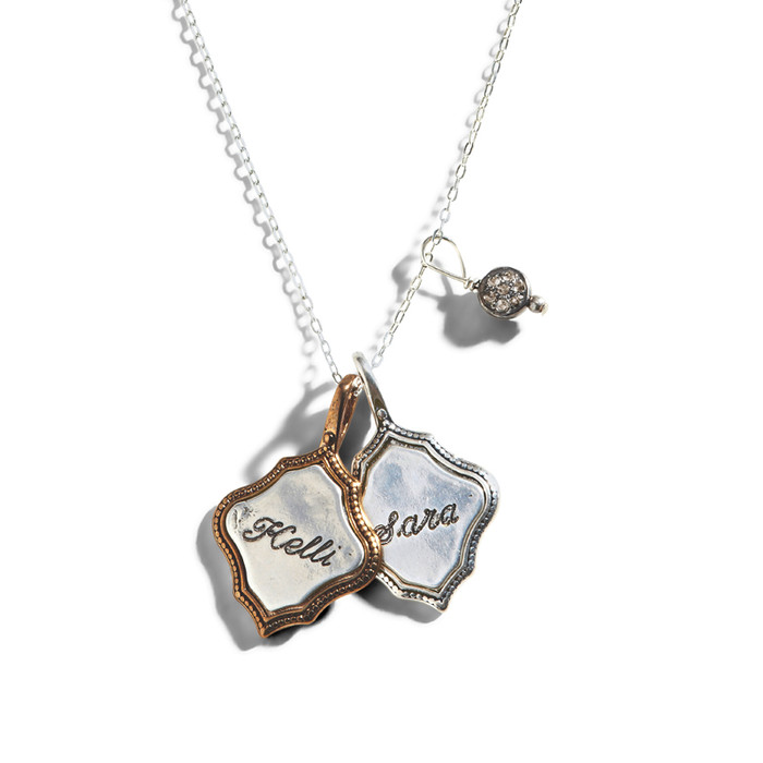 Sevilla Personalized Charm Necklace