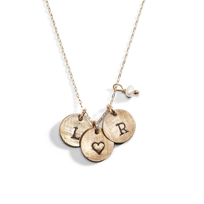 The Gift Personalized Initial Necklace