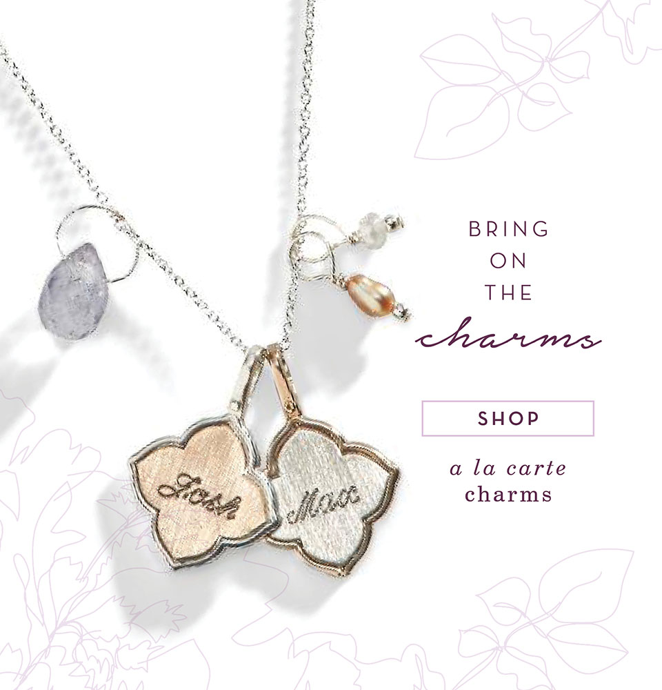 Hand Stamped Jewelry Unique Personalized Jewelry Three Sisters